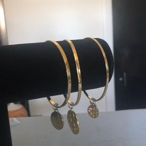 Coach Jewelry - Coach gold tone bangles